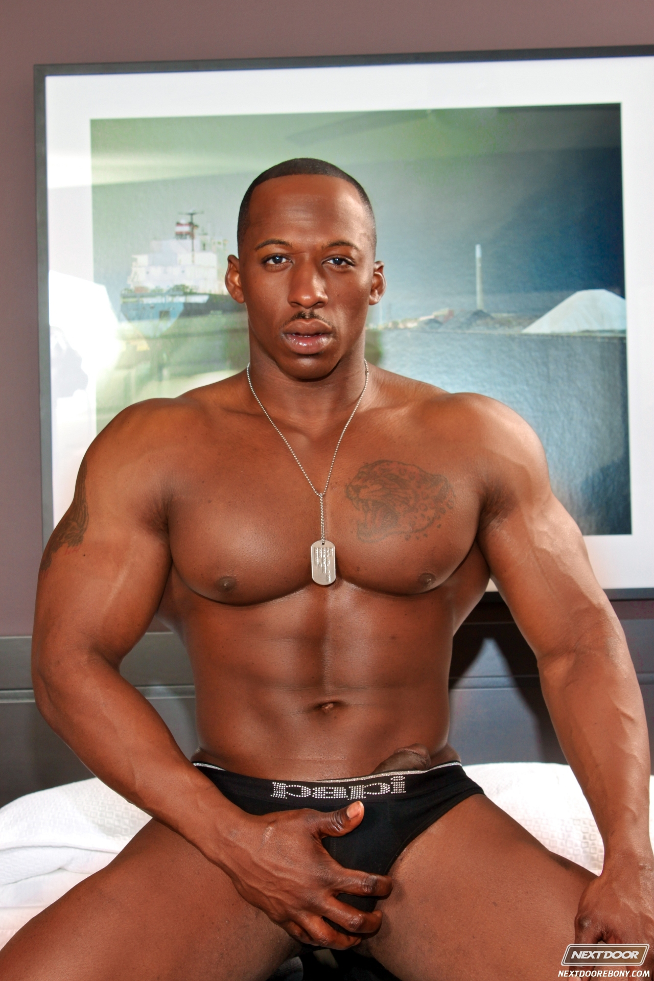 Hot Naked Black Man